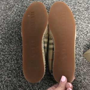 Burberry Shoes - BURBERRY HODGESON VINTAGE CHECK FLAT